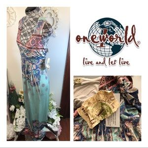 New With Tags One World Maxi Dress